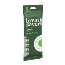 BREATH SAVERS Mints in Spearmint Flavor (8-Roll Pack), 6 Ounces