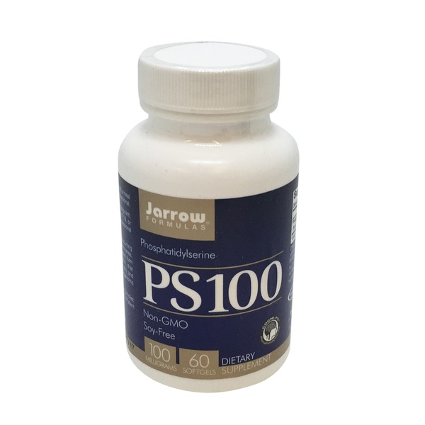 Jarrow Formulas PS100 Phosphatidylserine 100 mg Softgels