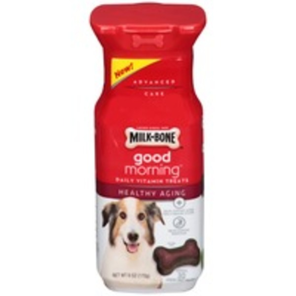 Milk-Bone Good Morning Daily Vitamin Healthy Aging Dog Treats