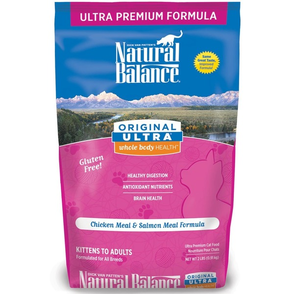 Natural Balance Original Ultra Whole Body Health Cat Food 2 Lbs.