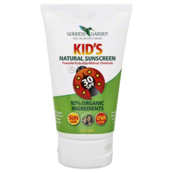 Goddess Garden Organic Kids Natural Sunscreen SPF 30