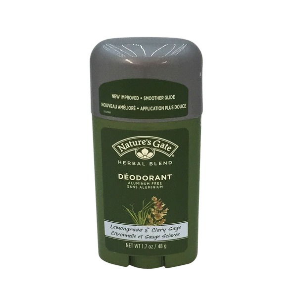 Nature's Gate Lemongrass & Clary Sage Deodorant Stick