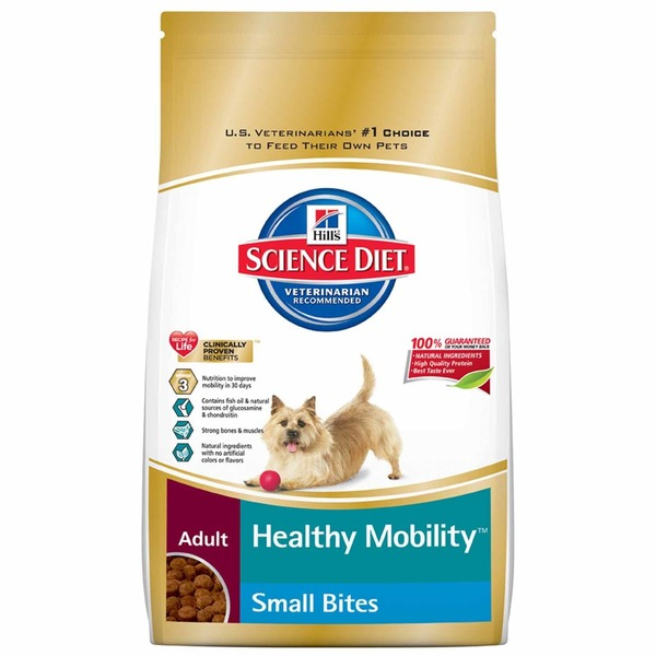 Hill's Science Diet Dog Food, Dry, Small Bites