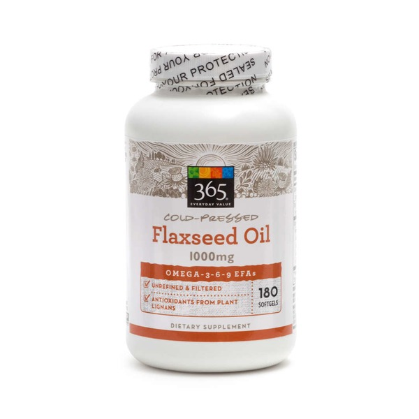365 Flaxseed Oil 1000mg