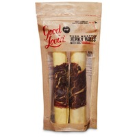 Good Lovin' Hand Wrapped Jerky Rolls With Beef