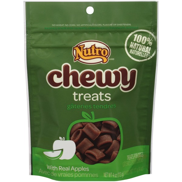 Nutro Chewy with Real Apples Dog Treats