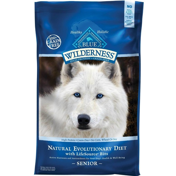 Blue Buffalo Wilderness Chicken Senior Dry Dog Food 11 Lbs.