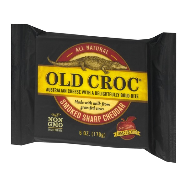 Old Croc Australian Cheese Smoked Sharp Cheddar