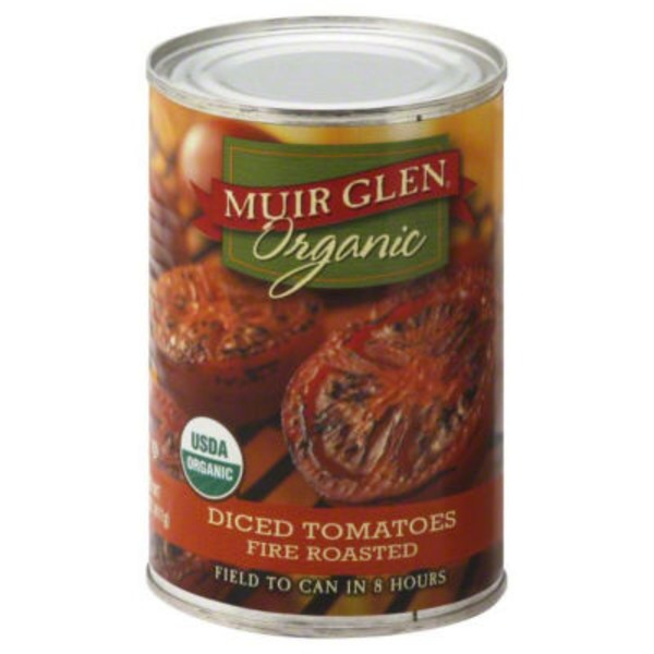 Muir Glen Organic Diced Fire Roasted Tomatoes