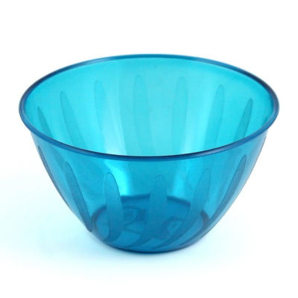 Maryland Plastics Caribbean Blue Swirls Small Bowl
