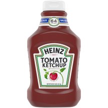 Heinz Tomato Ketchup Bottle, 64 oz