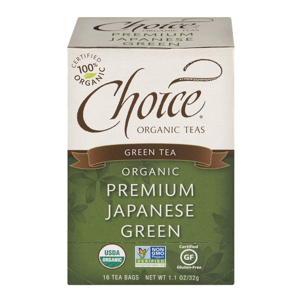 Choice Organic Teas Organic Premium Japanese Green Tea