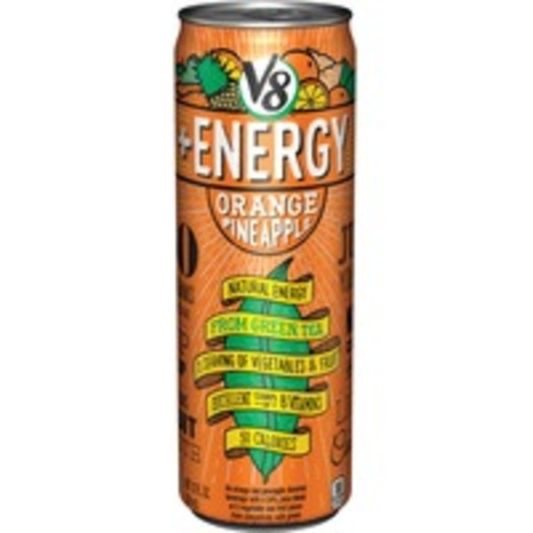 V8 +Energy Orange Pineapple Flavored Beverage