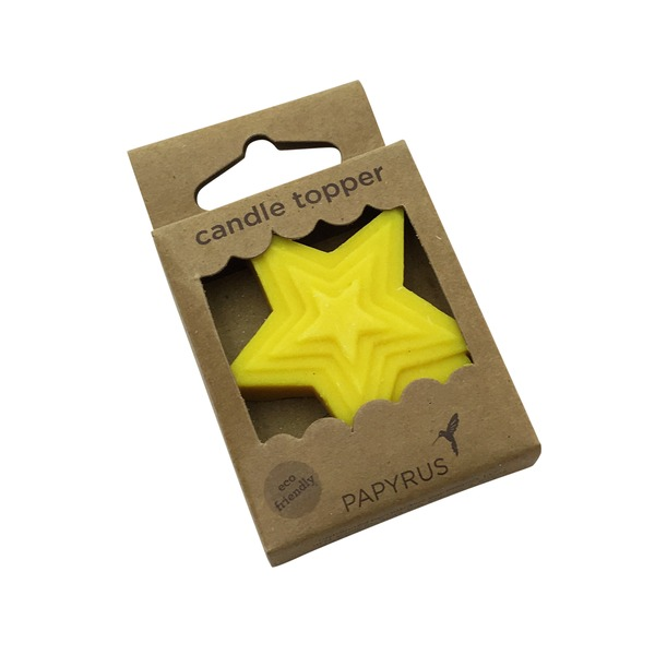 Papyrus Eco Topper Star Candle