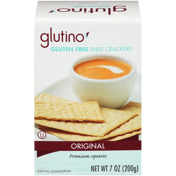Glutino Gluten Free Original Table Crackers