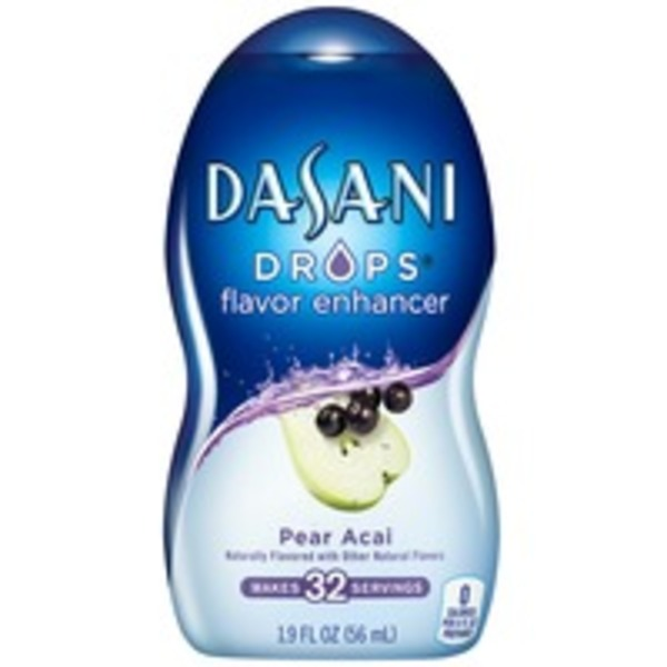 Dasani Drops Pear Acai Flavor Enhancer