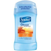 Suave Tropical Paradise Invisible Solid Anti-Perspirant/Deodorant, 1.40 Oz