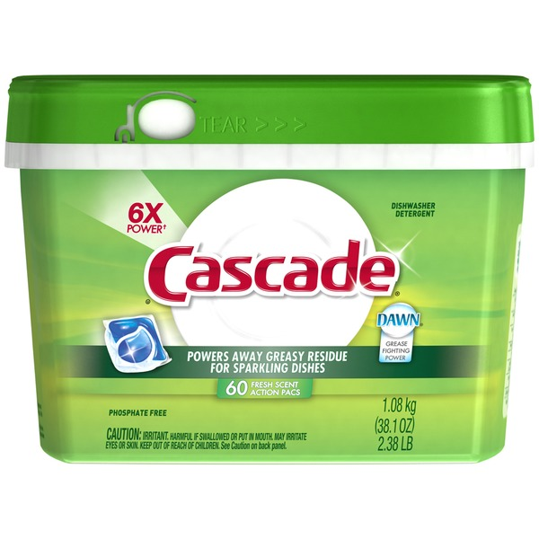 Cascade CASCAD ACTION PACS REG 60CT