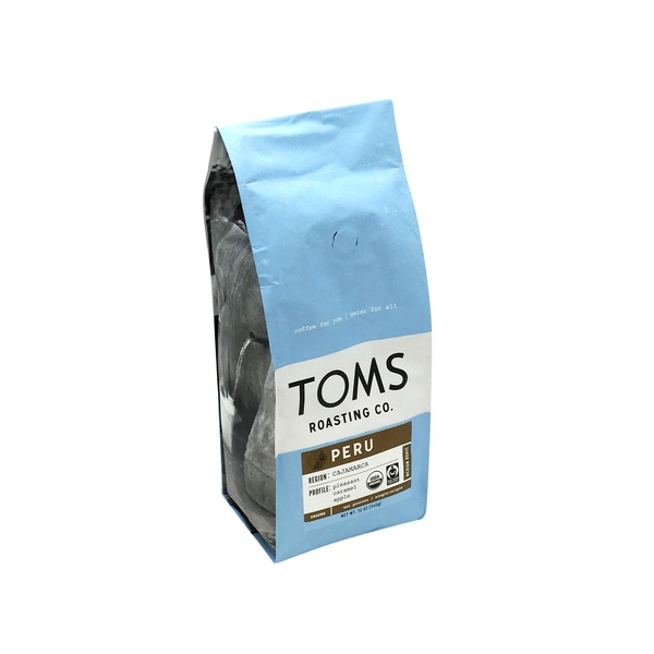 Toms Roasting Co Peru Medium Roast Ground Coffee