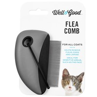 Well & Good Black Flea Comb For All Cat Coats