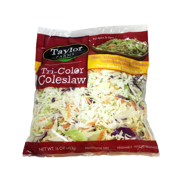 Taylor Farms Tri-Color Coleslaw