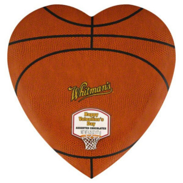 Whitmans Basketball Happy Valentine's Day Assorted Chocolates