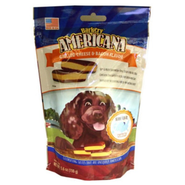 Barkery Grilled Cheese & Bacon Flavor Americana Dog Treats