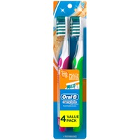 Oral-B Advantage Oral-B Complete Deep Clean Soft Bristles Toothbrush 4 Count Manual Oral Care