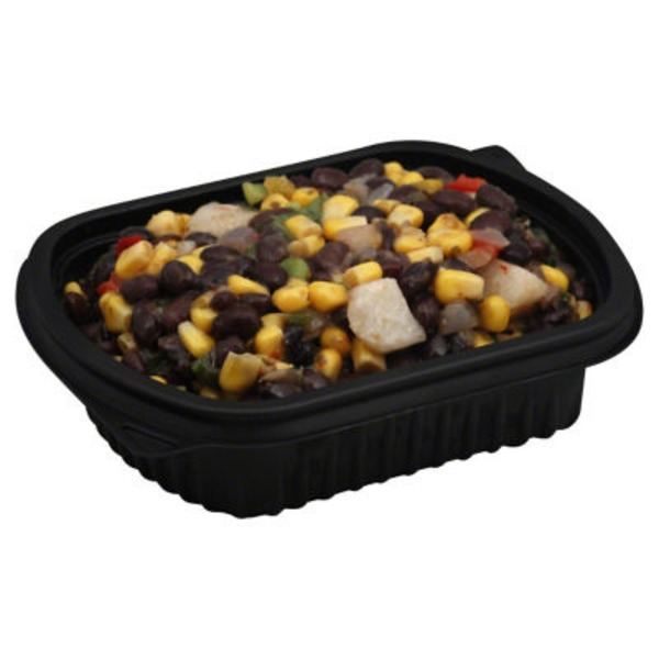 H-E-B Delicatessen Black Bean Corn And Jicama Salad