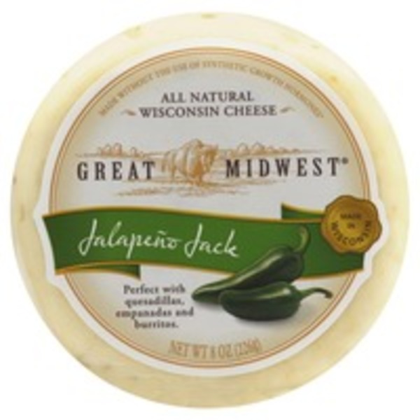 Great Midwest Jalapeno Jack Cheese