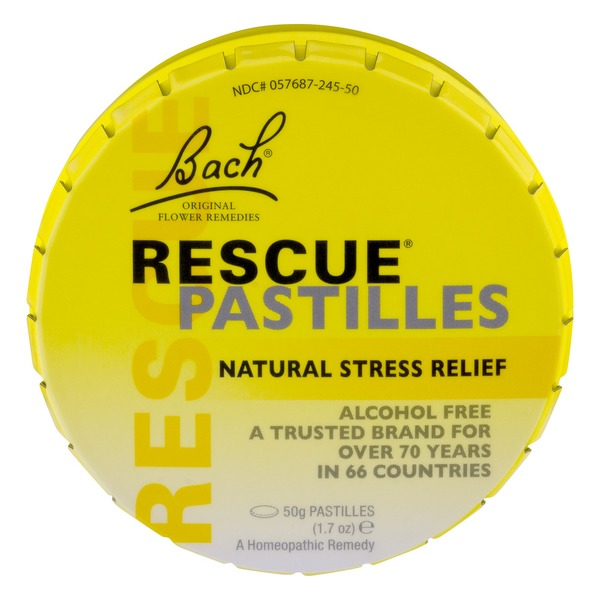 Bach Rescue Pastilles Natural Stress Relief 50g Pastilles