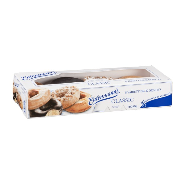 Entenmann's Classic Donuts Variety Pack