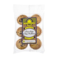 Kinnikinnick Foods Chocolate Chip Muffins Gluten Free - 6 CT