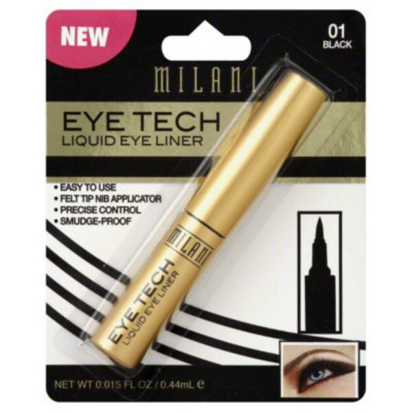 Milani Liquid Eye Liner  - Black 01