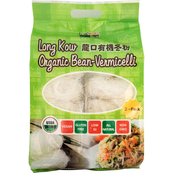 Long Kow's Organic Vermicelli Noodles