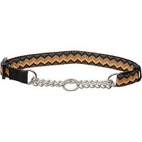 Hamilton Zigzag Pattern Martingale Dog Collar For Necks 20