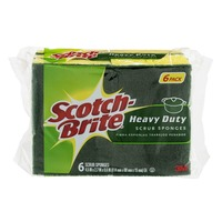 Scotch-Brite Heavy Duty Scrub Sponges - 6 CT