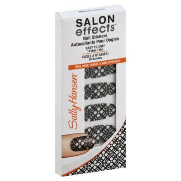 Sally Hansen Black to Basics Nail Stickers