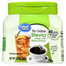 Great Value Stevia Sweetener, No Calorie, 9.8 oz