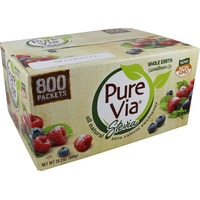 Pure Via Stevia Sweetener Sachets