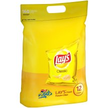 Lay's Classic Potato Chips, 12 count, 1 oz Bags