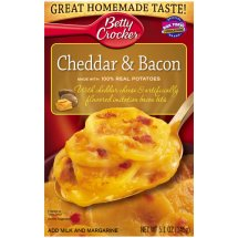 Betty Crocker Cheddar & Bacon Potatoes, 5.1 oz
