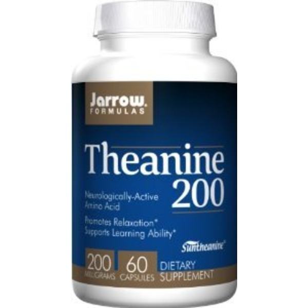 Jarrow Formulas Theanine 200 200 Mg