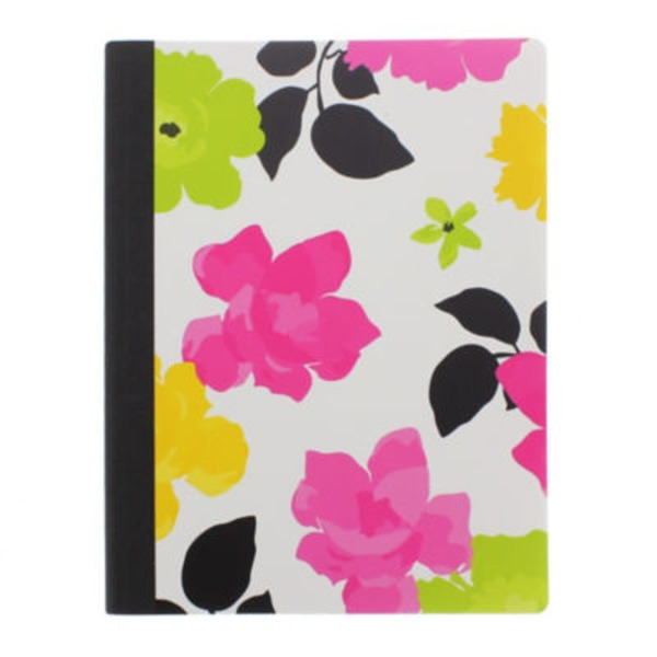 Fashionista Composition Book Colors & Designs May Vary