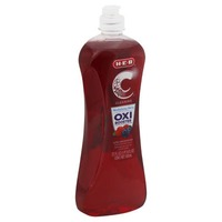 H-E-B Cleaning Ultra Concentrated With Oxi Booster Revitalizing Berry Dishwashing Liquid
