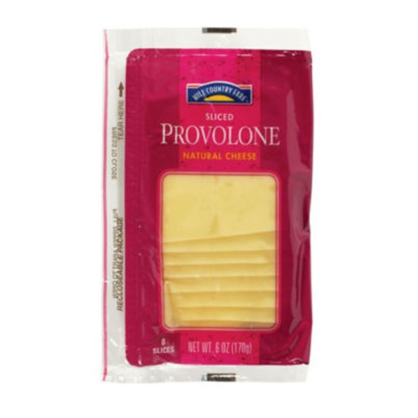Hill Country Fare Medium Sliced Provolone Cheese