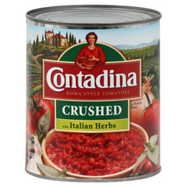 Contadina Crushed Roma Style with Basil Tomatoes