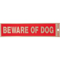 Hillman Group Sign Center Beware Of Dog Decal