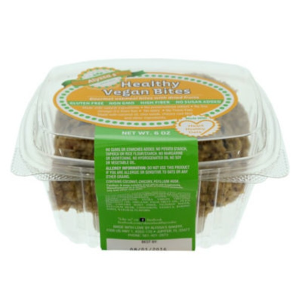 Publix Bakery Healthy Vegan Bites