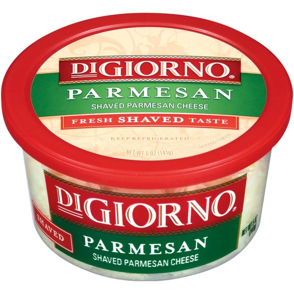 DiGiorno Shaved Parmesan Cheese